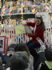 Reading at the 22 Ft. Book Tree!